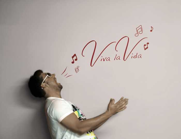 Wall tattoo Viva la Vida