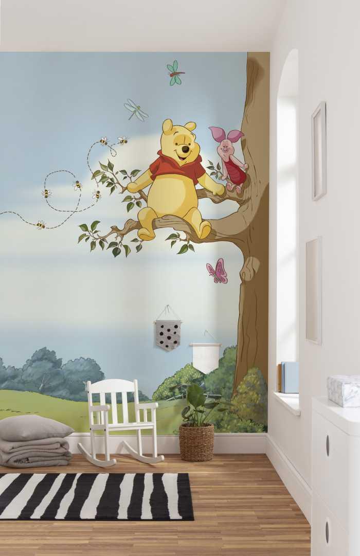 Photomural Winnie Pooh Tree