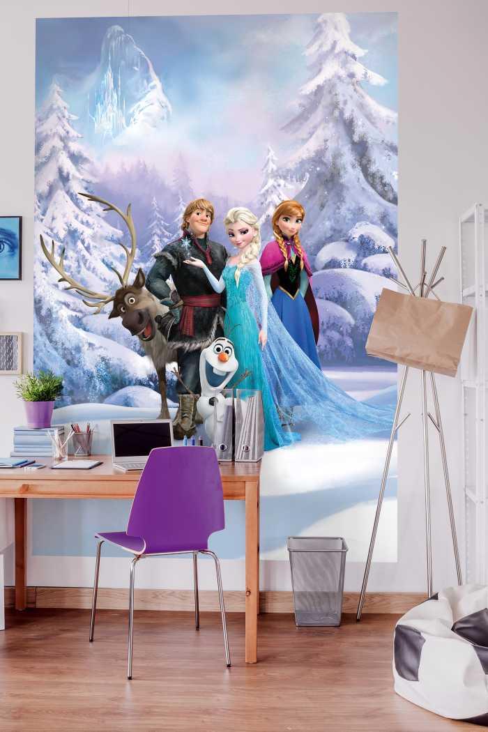 Photomural Frozen Winter Land