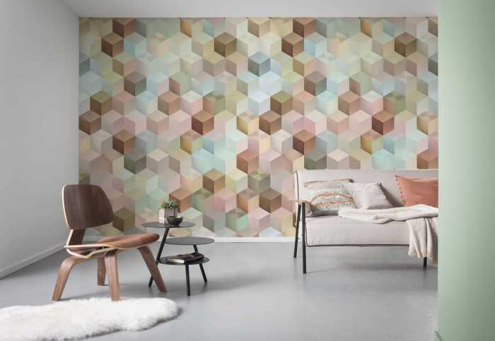 Digital wallpaper Cubes