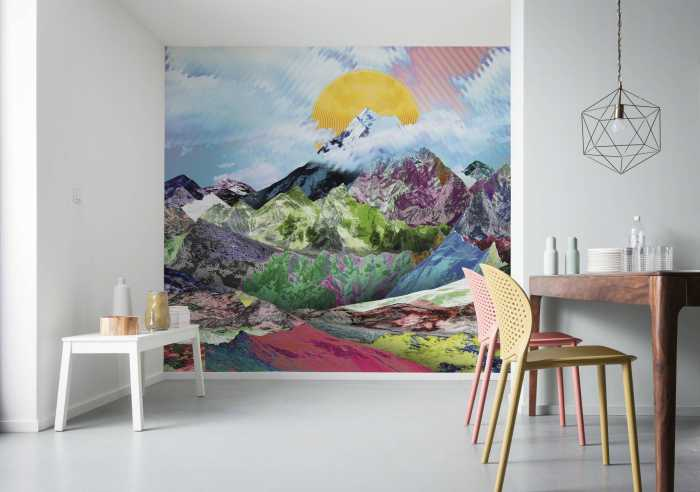 Digital wallpaper Mountain Top
