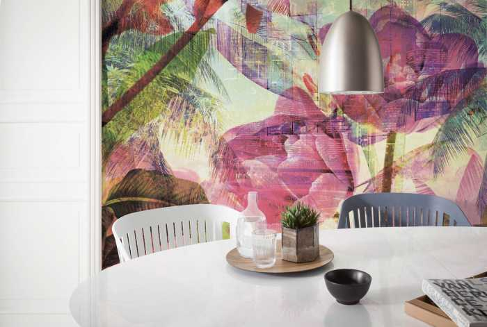 Digital wallpaper Metropical