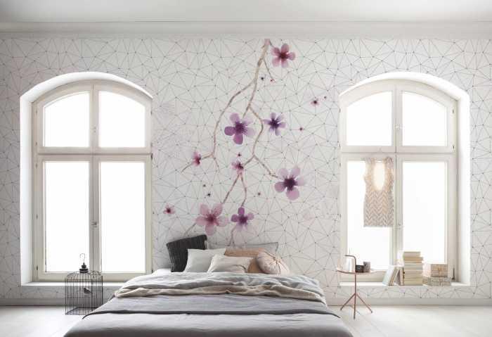 Digital wallpaper Cherry Tree