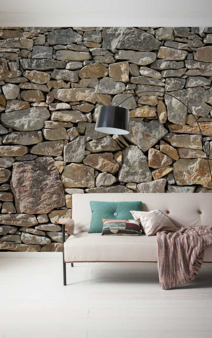 Digital wallpaper Stone Wall