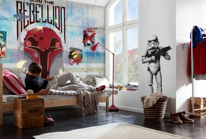 Photomural Star Wars Rebels Wall