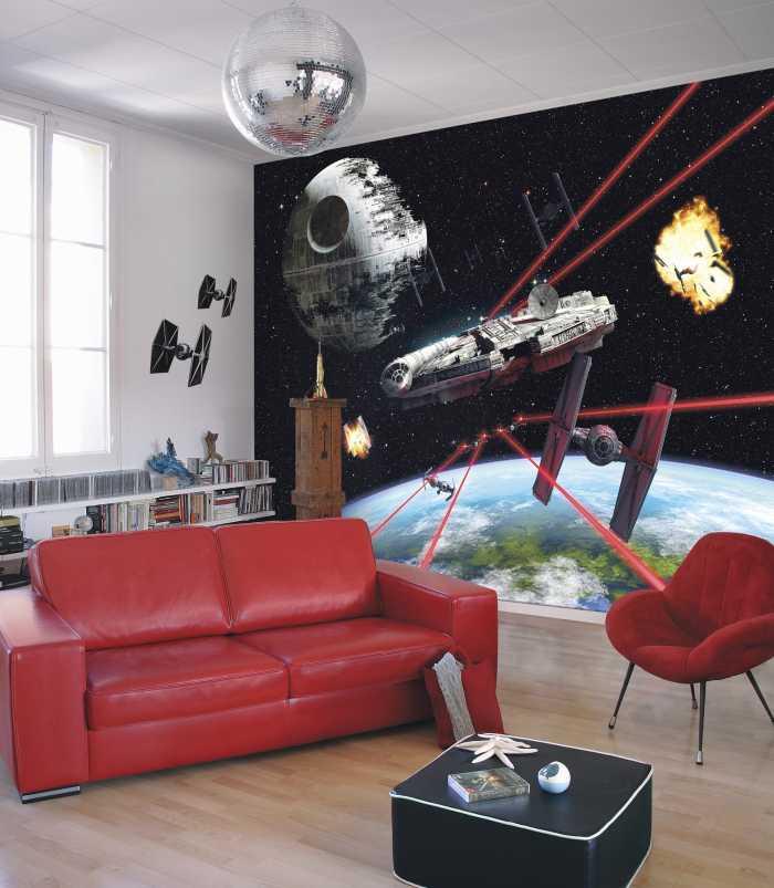Photomural Star Wars Millennium Falcon