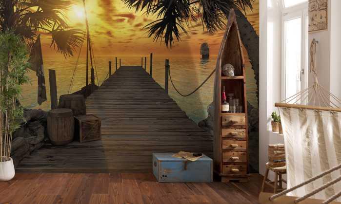 Photomural Treasure Island