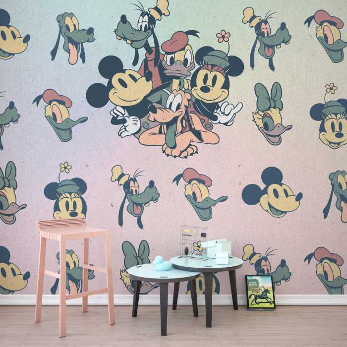 Digital wallpaper Mickey Fab5