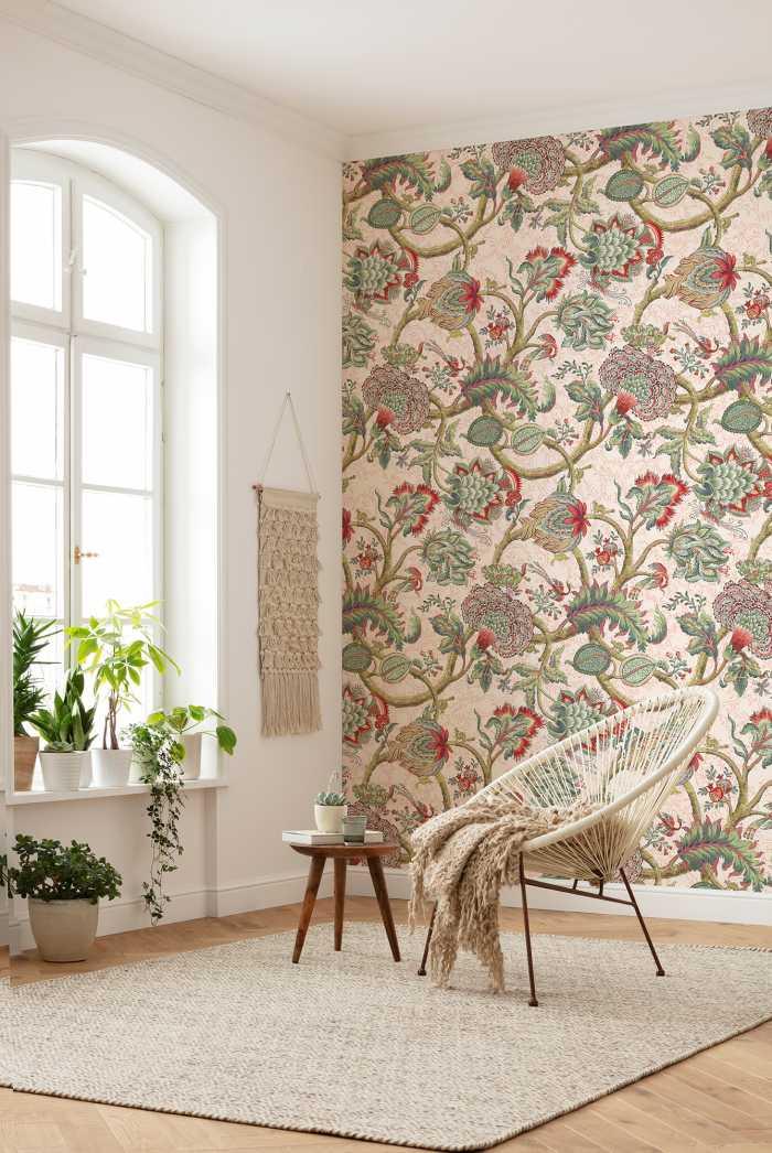 Digital wallpaper Fleurs