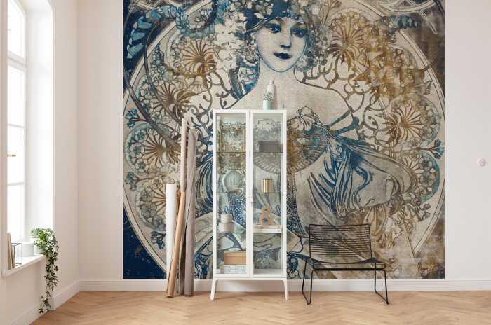 Digital wallpaper Porcelaine