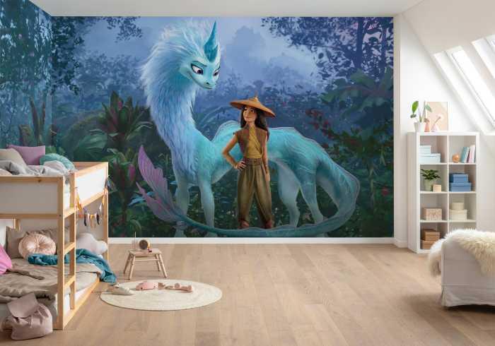 Digital wallpaper Raya Jungle