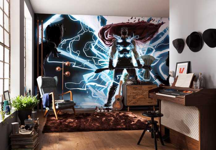 Digital wallpaper Thor God of Thunder