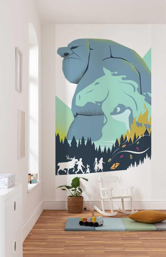 Digital wallpaper Frozen Adventure