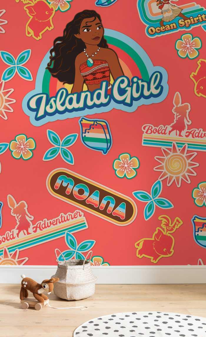 Digital wallpaper Moana Island Girl