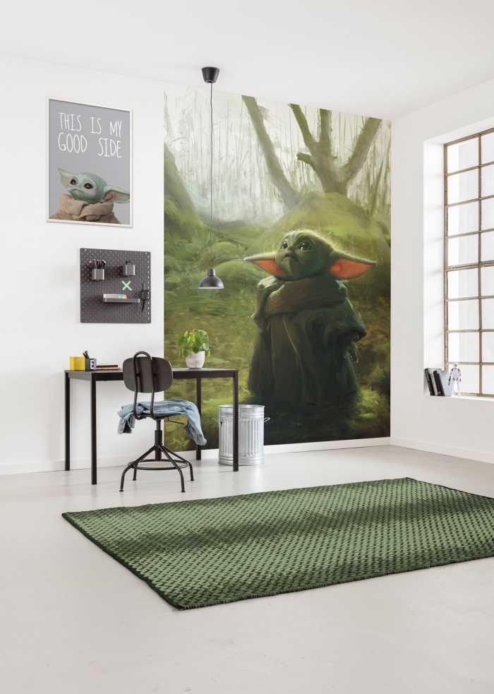 Digital wallpaper Mandalorian Grogu Acrylic