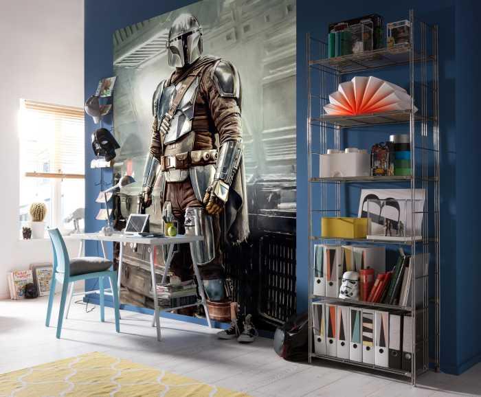 Digital wallpaper Mandalorian Fight Posture