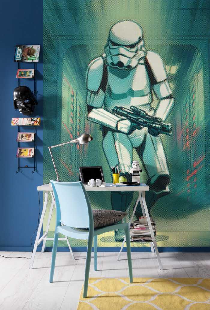 Digital wallpaper Mandalorian Stormtrooper Print