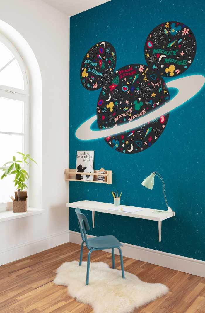 Digital wallpaper Planet Mickey