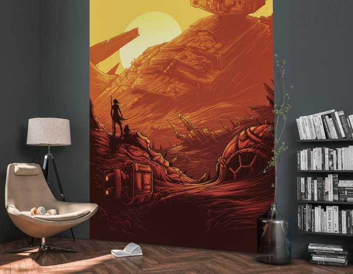Digital wallpaper Star Wars Jakku Star Destroyer