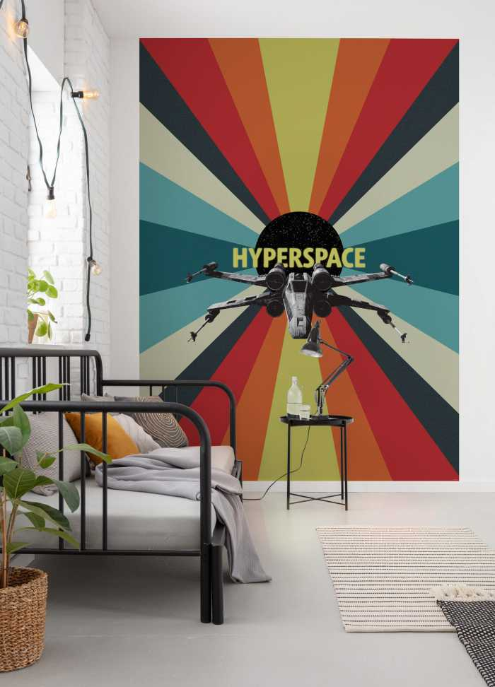 Digital wallpaper Star Wars Hyperspace