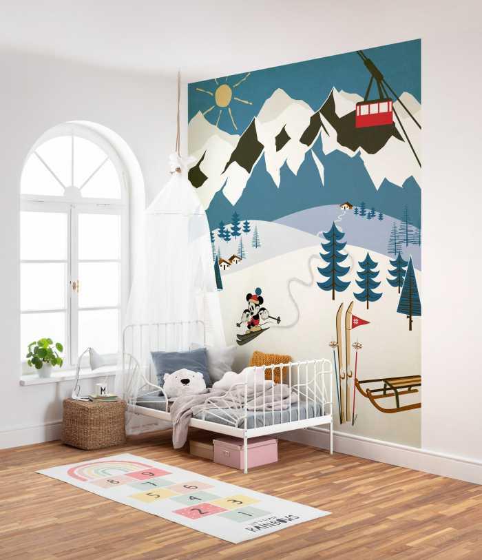 Digital wallpaper Mickey Alpine