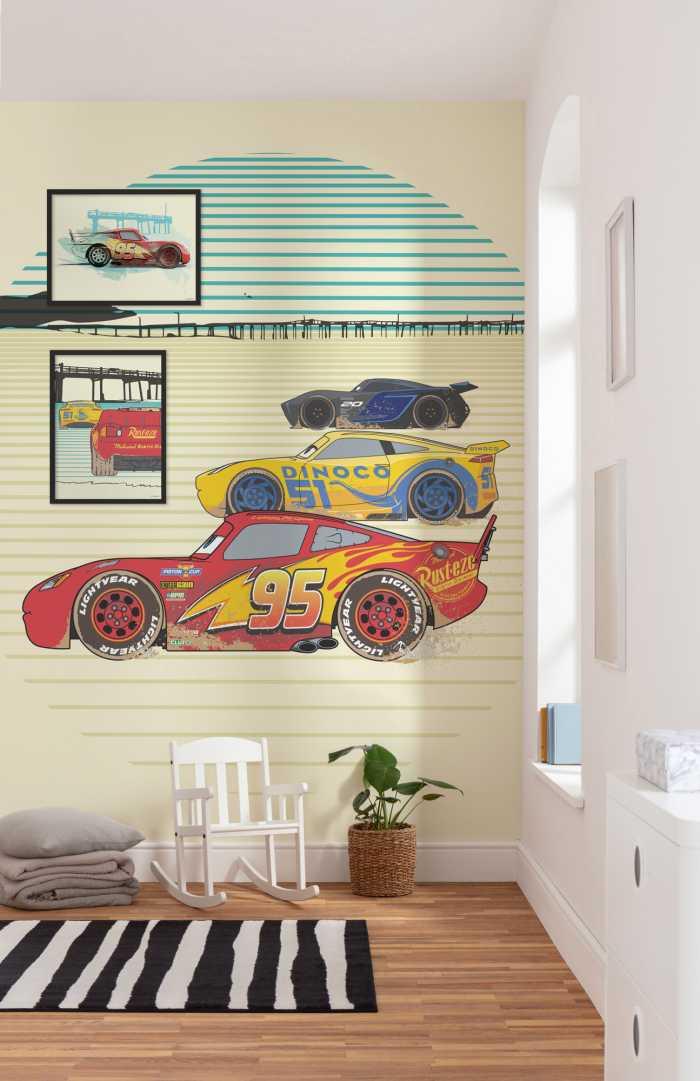 Digital wallpaper Cars Stream Lines