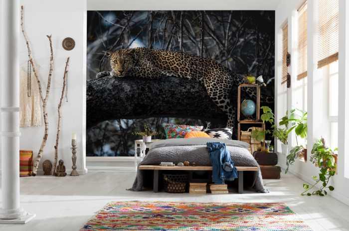 Digital wallpaper Panthera