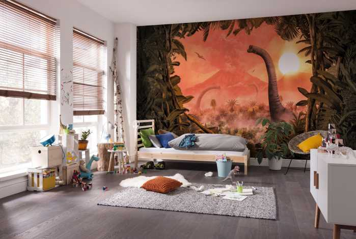 Digital wallpaper Brachiosaurus Panorama