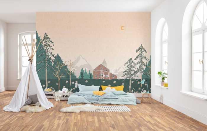 Digital wallpaper Little Farm