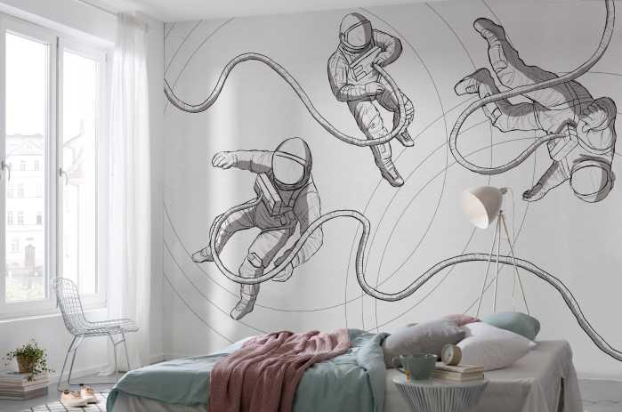 Digital wallpaper Extraordinary Astronauts