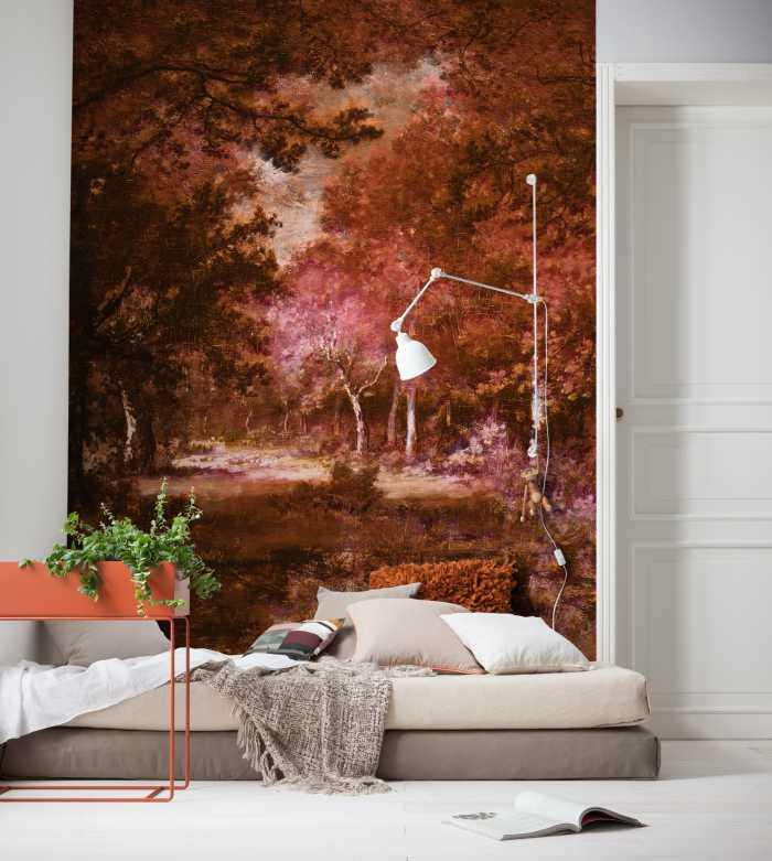 Digital wallpaper Autumna rosso