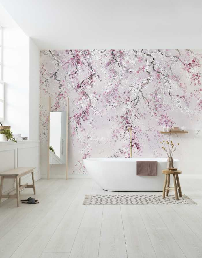 Digital wallpaper Kirschblüten
