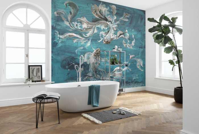 Digital wallpaper Flux