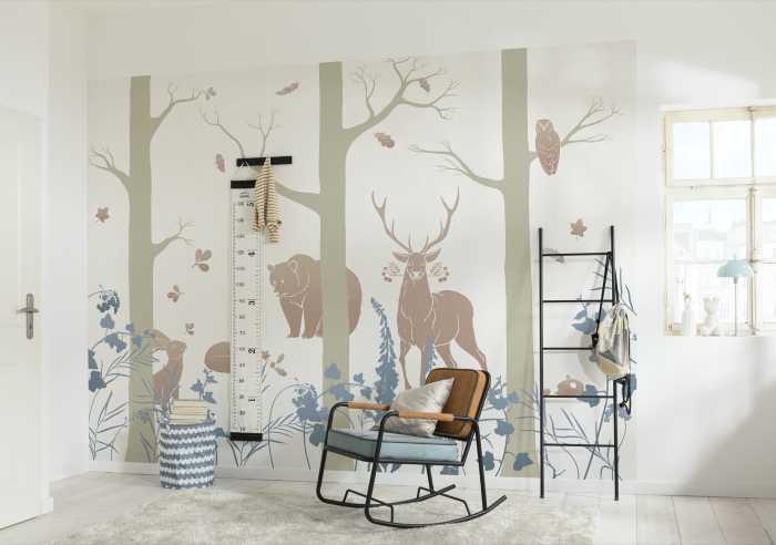 Digital wallpaper Forest Animals