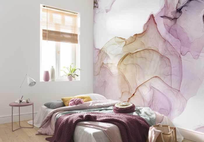 Digital wallpaper Shiny Fluid