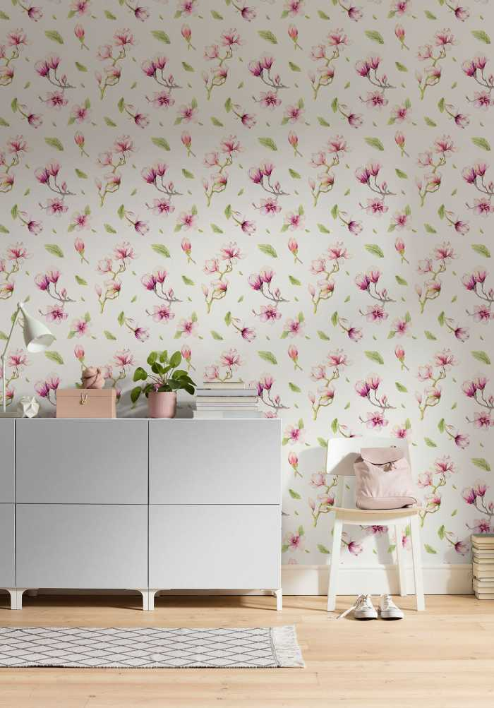 Digital wallpaper Magnolia Rapport