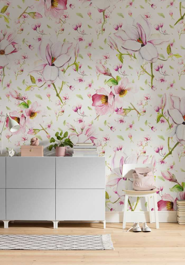 Digital wallpaper Magnolia