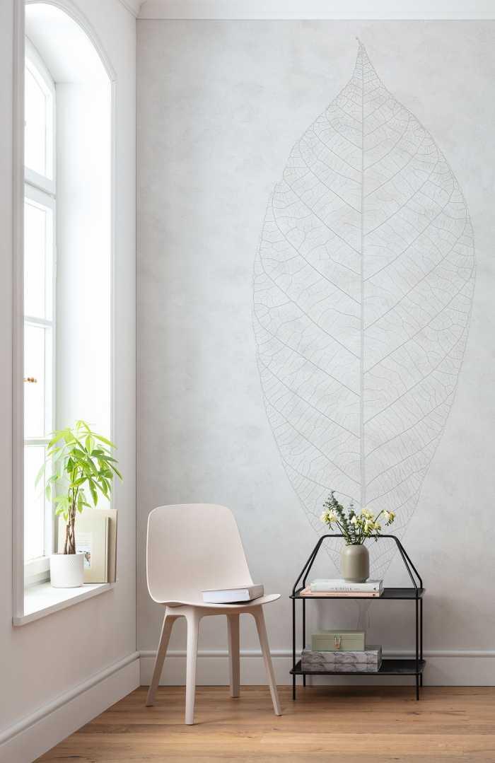 Digital wallpaper Decent Leaf