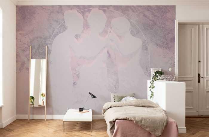 Digital wallpaper Nymphs