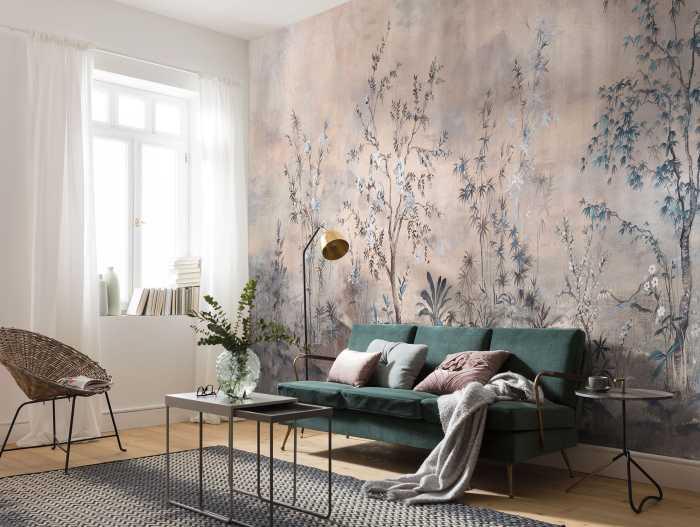 Digital wallpaper Mandarin Morning