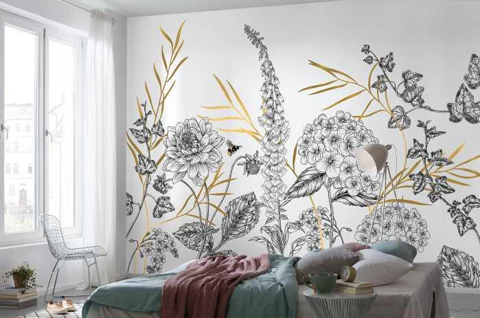 Digital wallpaper Bumble Bee