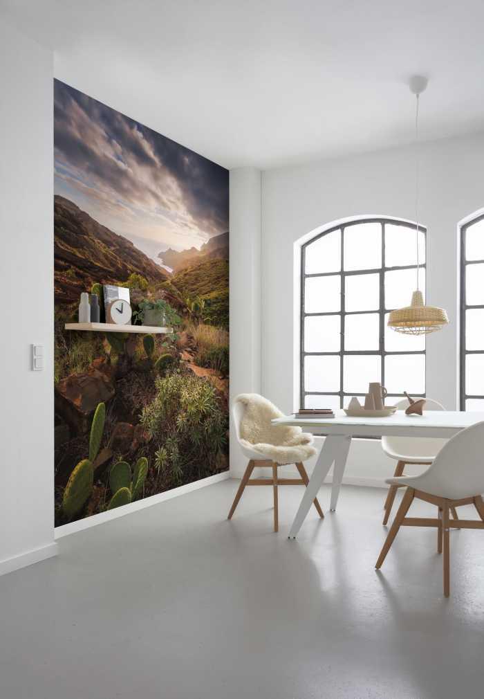 Digital wallpaper Warmes Licht