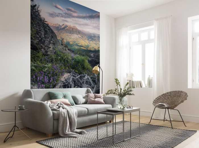 Digital wallpaper Flowering Tales