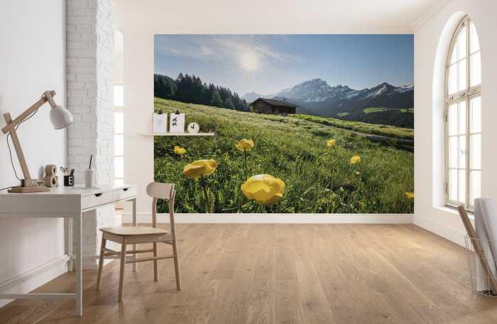 Digital wallpaper Alpenglück