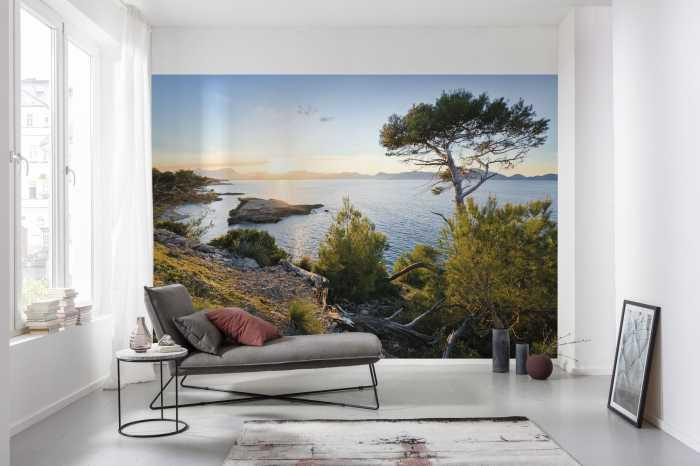 Digital wallpaper Licht des Südens