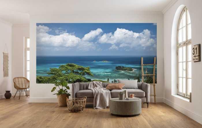 Digital wallpaper The Sea View