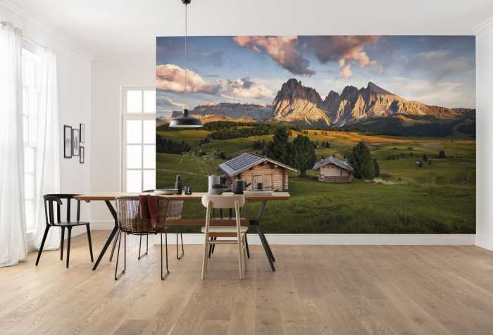 Digital wallpaper Dolomitentraum