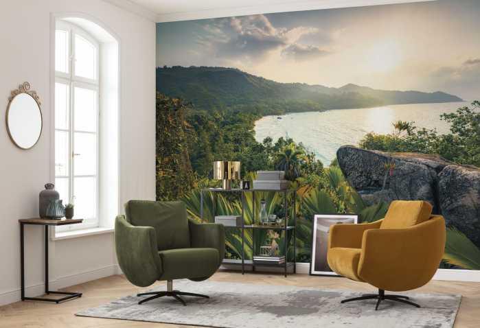 Digital wallpaper Golden Air