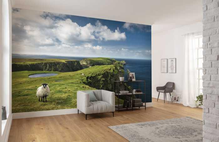 Digital wallpaper Green Ireland