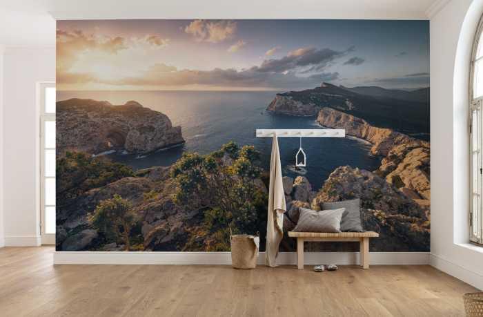 Digital wallpaper Mediterranes Spektakel